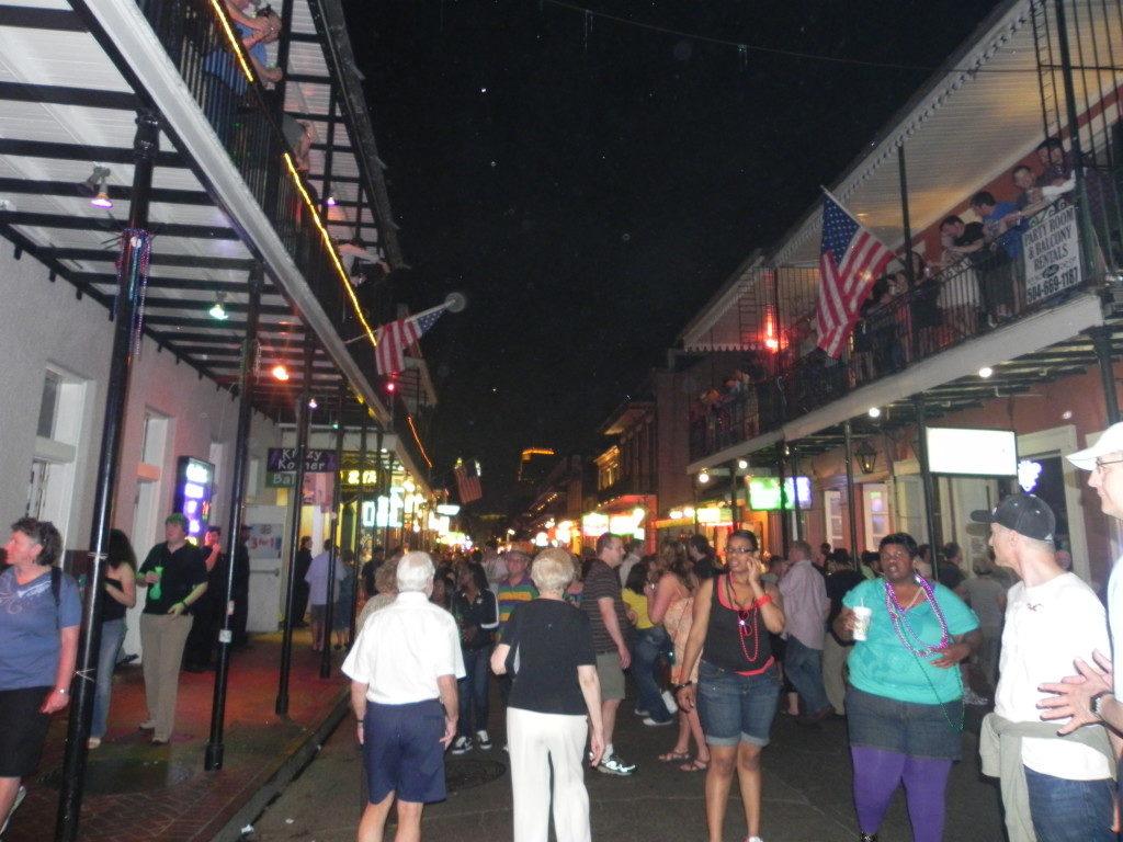 A spasso per Bourbon street
