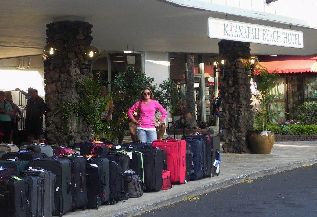 Qualche valigia di troppo... Maui, Hawaii