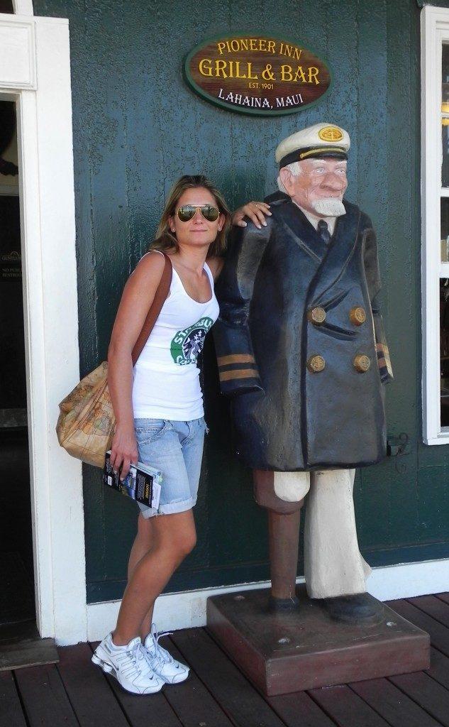 Il vecchio balenieire del Pioneer Inn a Lahaina