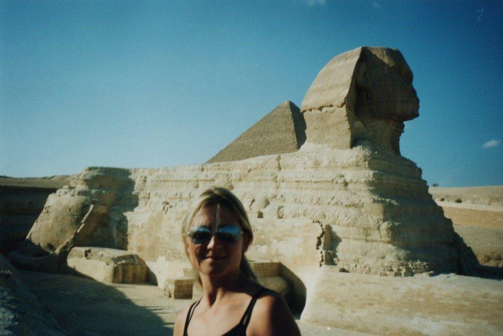 Giza, Egitto... la Sfinge