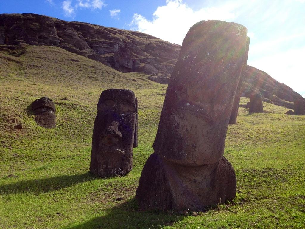 La fabbrica dei Moai