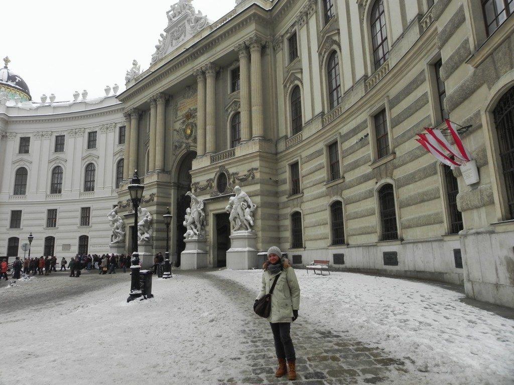 Vienna...l'Hofburg