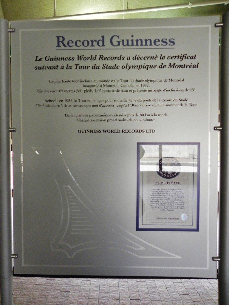 Una torre da ....Guinness