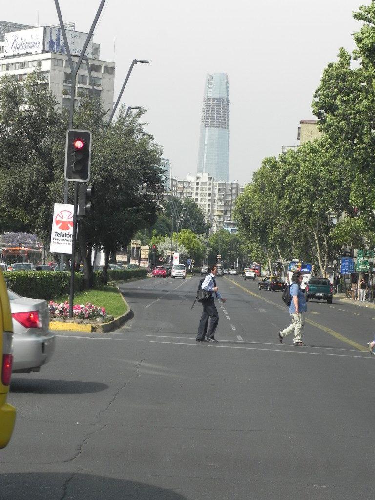 La moderna Santiago
