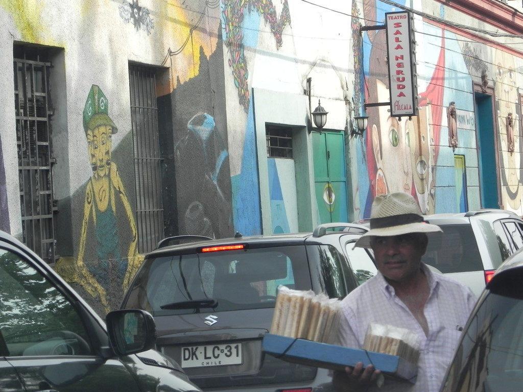 Barrio Bellavista... venditore di biscotti!!!