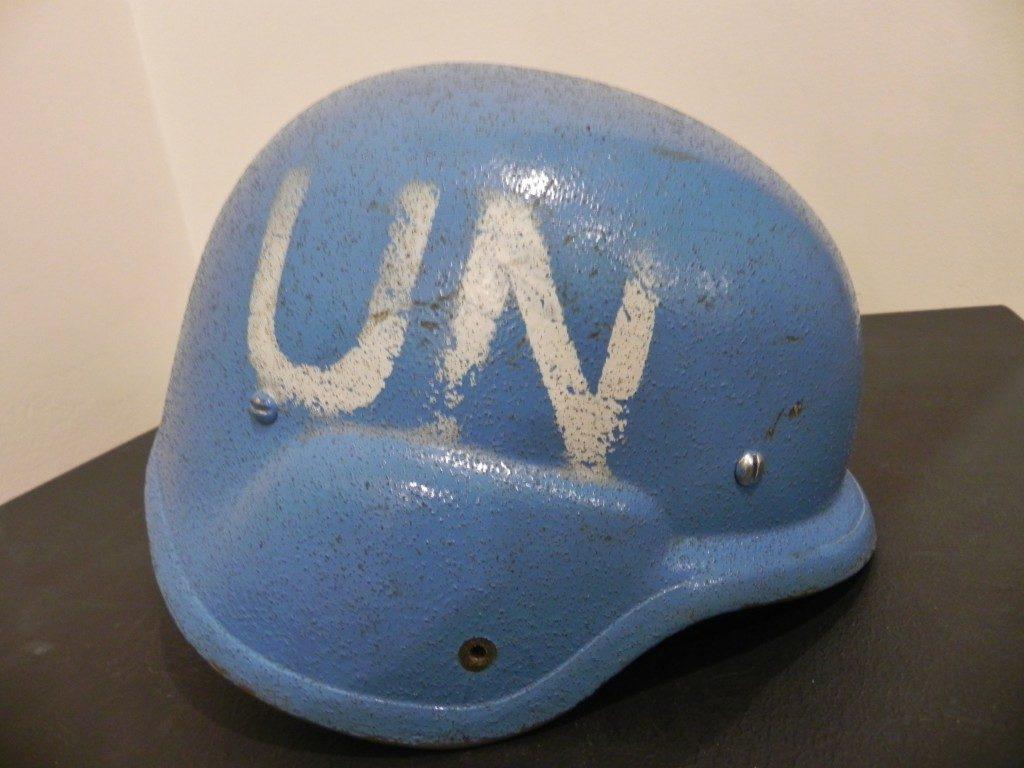 """Un """"casco blu"""""""