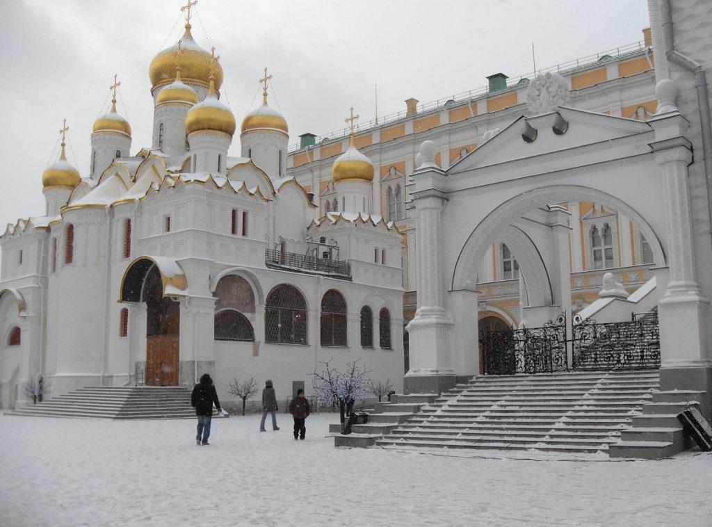 Nel Cremlino imbiancato...