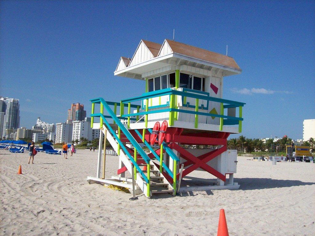 Miami on the beach