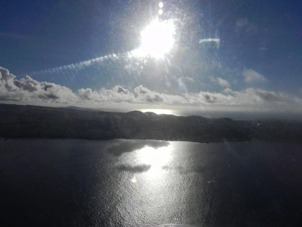 Lasciando l'Isola di Pasqua...