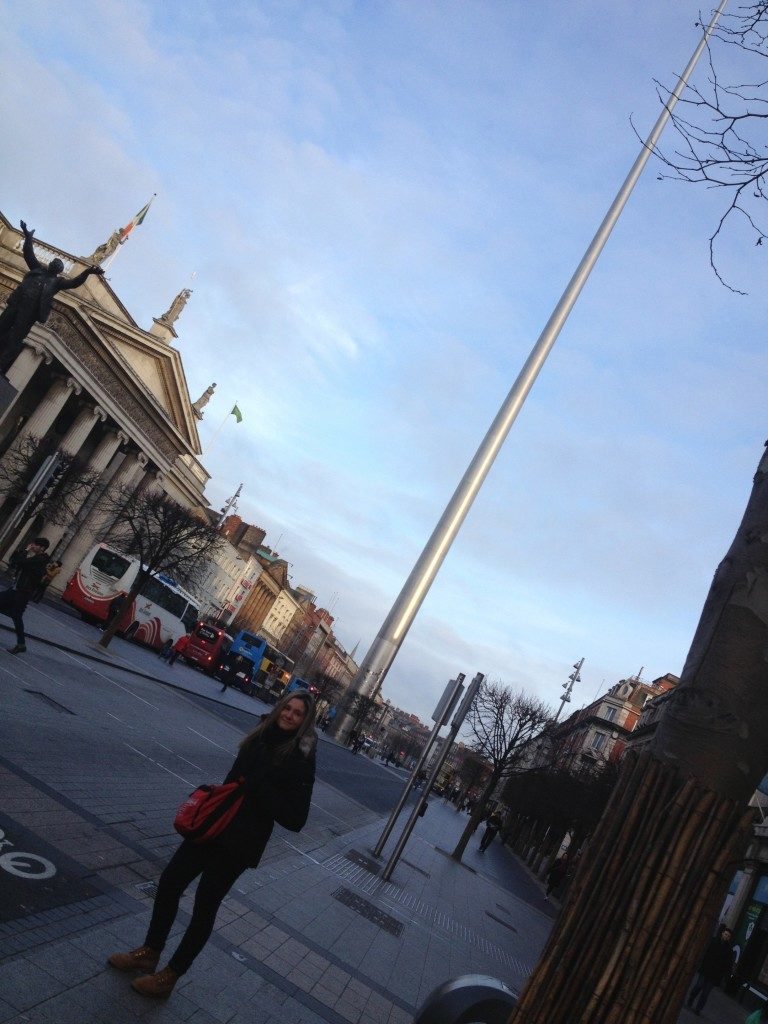 In O' Connell Street...