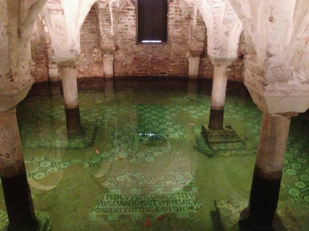 La Cripta sotto la Basilica San francesco