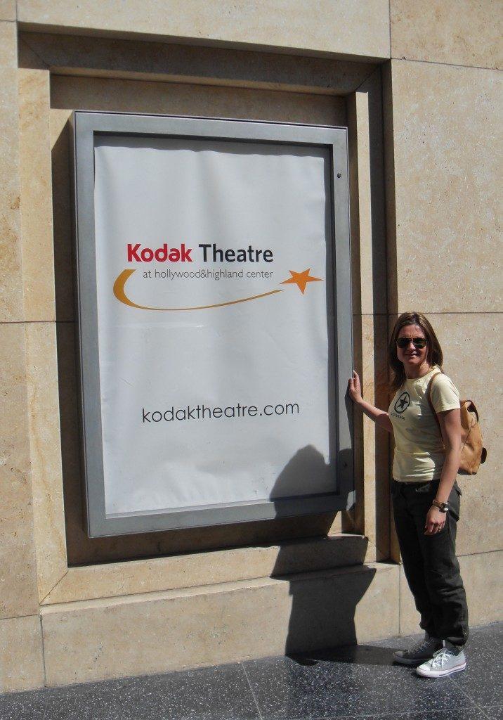 Il kodak Theater, la cerimonia degli Oscar, oggi, si tiene qui