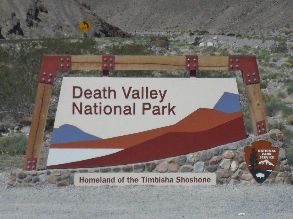 L'ingresso alla Death Valley!!