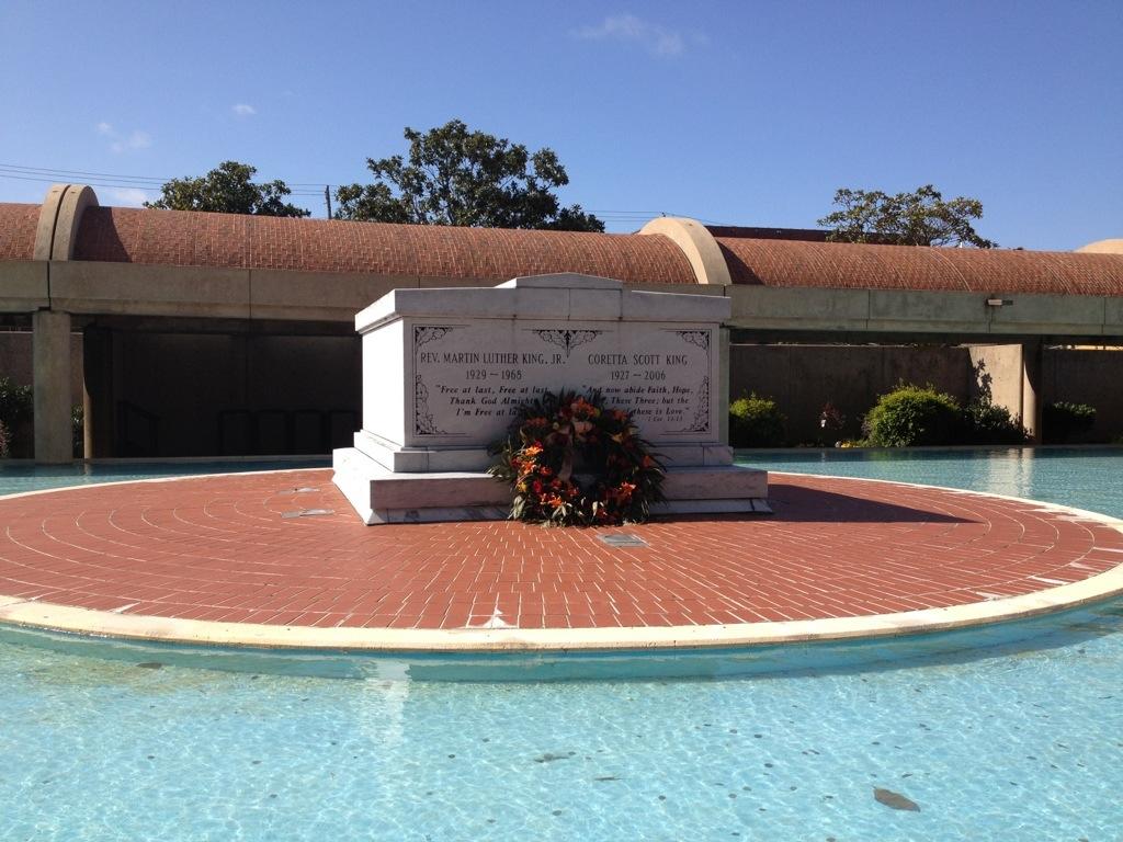 Atlanta, il sepolcro di Martin Luther King