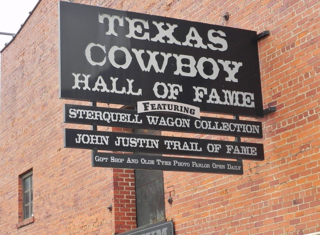 Cowboys Hall of Fame...