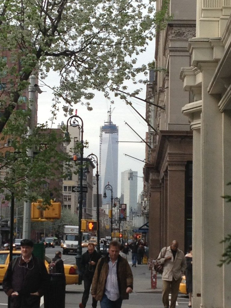 Il mio punto di riferimento a Manhattan... The Freedom Tower!!