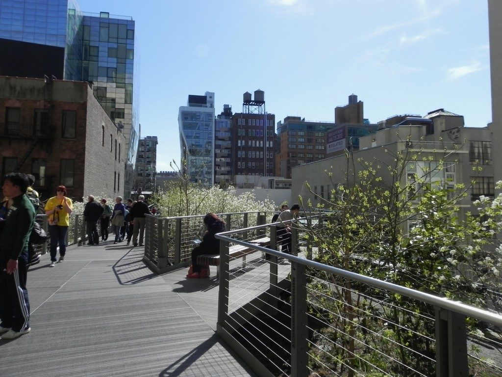 Relax sull'High Line...
