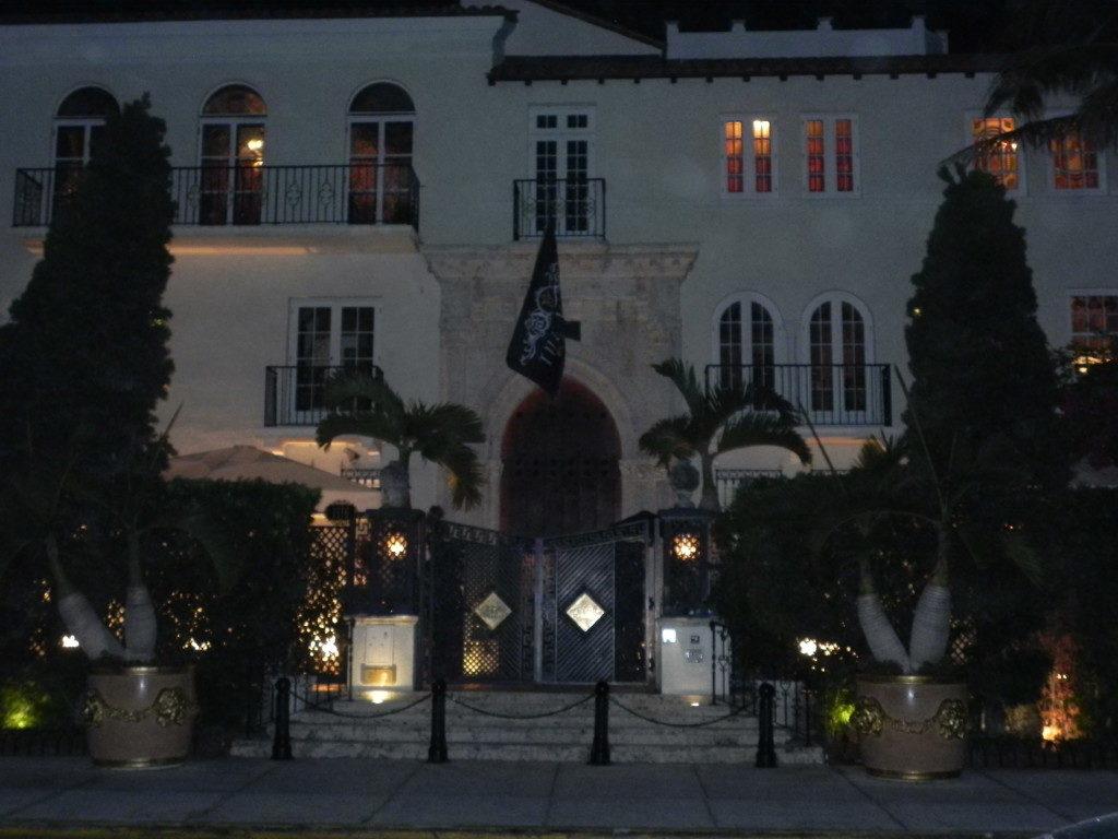 La villa di Versace...