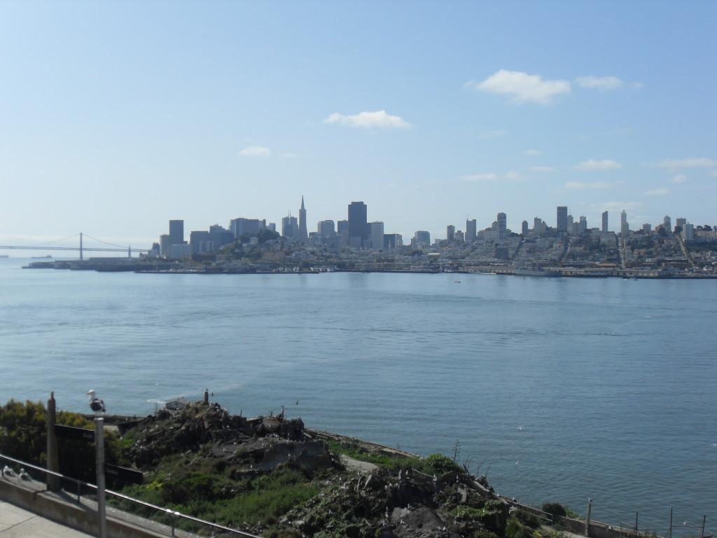 La vista su San Francisco...