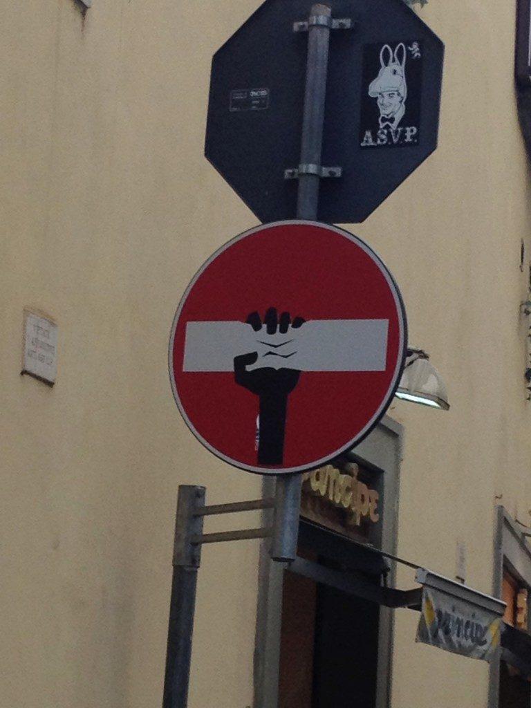 Clet, Street Art