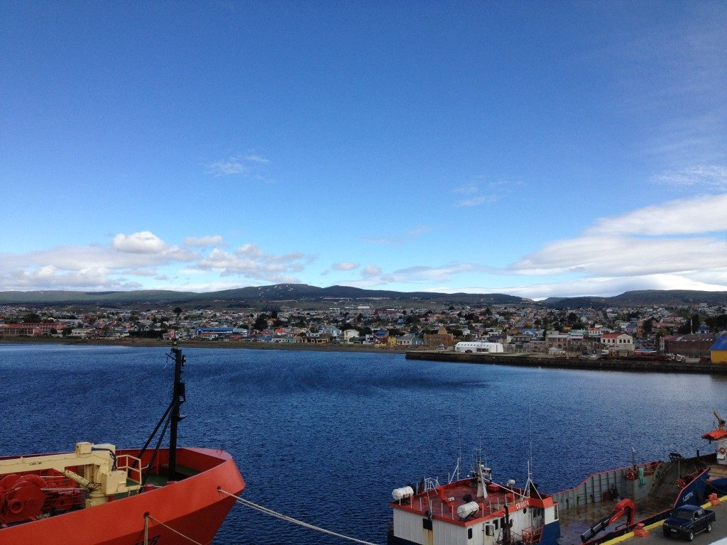 Arrivo a Punta Arenas...