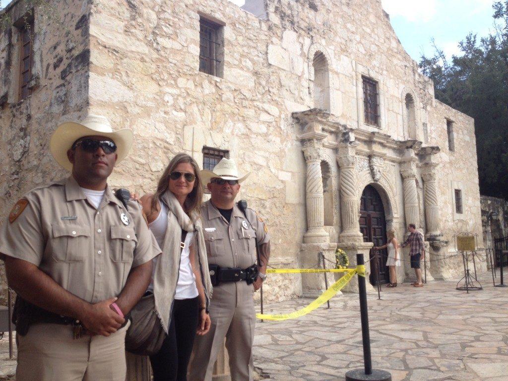 Con i Rangers di Alamo... TX