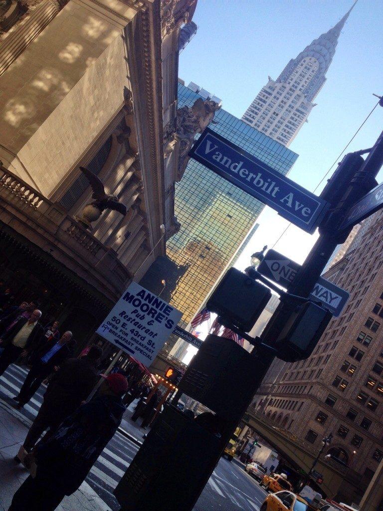 La punta del Chrysler Building