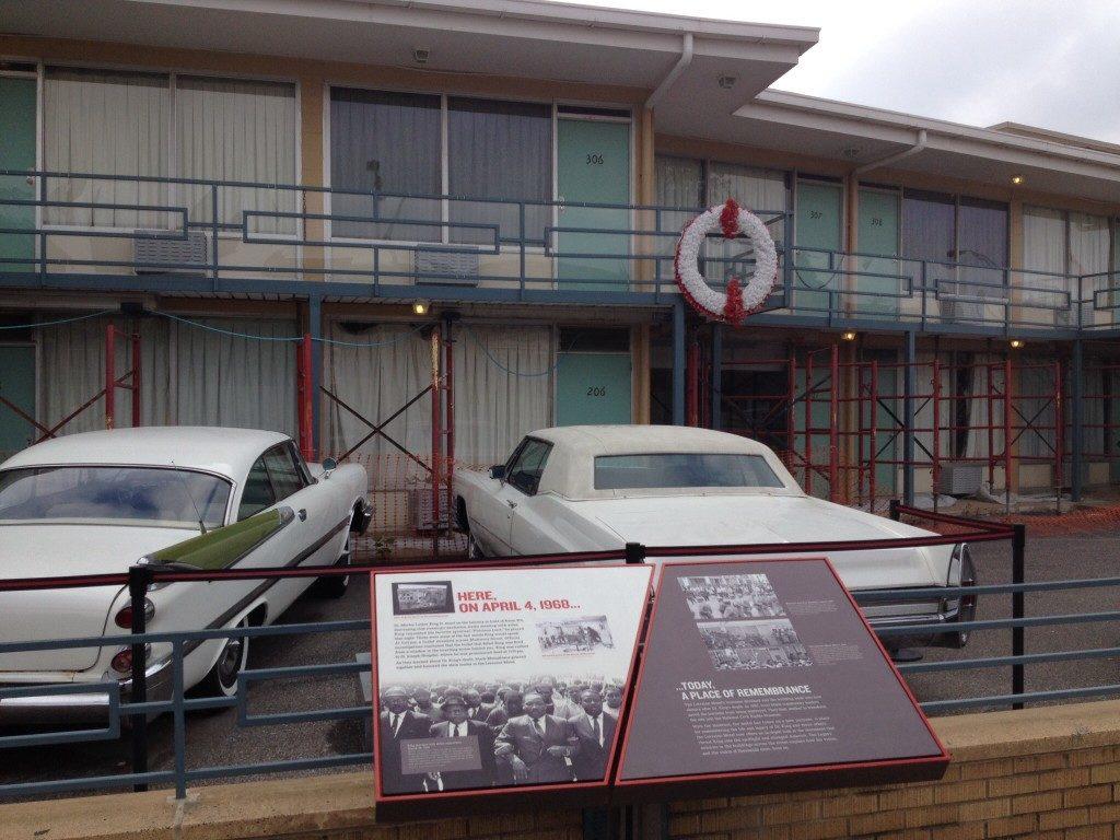 La stanza 306 del Lorraine motel! dove fu assassinato Martin Luther King