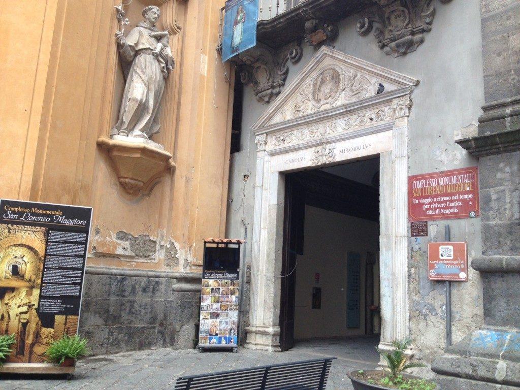 La Chiesa di San Lorenzo Maggiore...