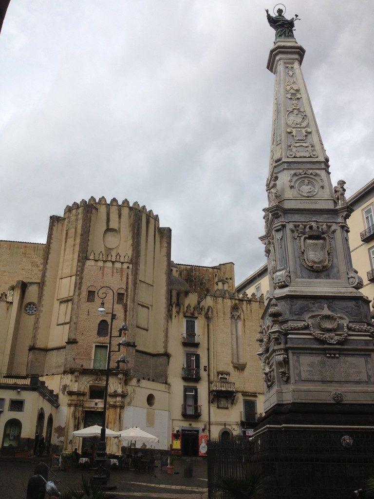 Piazza San Domenico Maggiore...