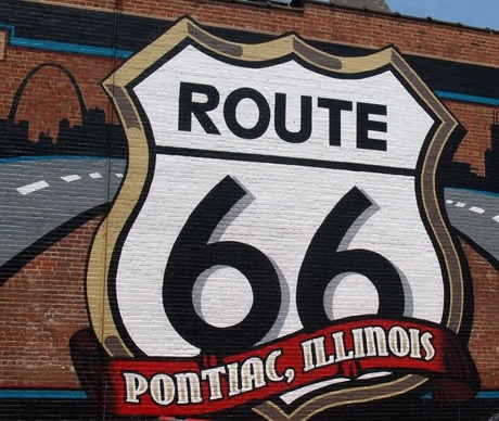 Pontiac on Route 66...