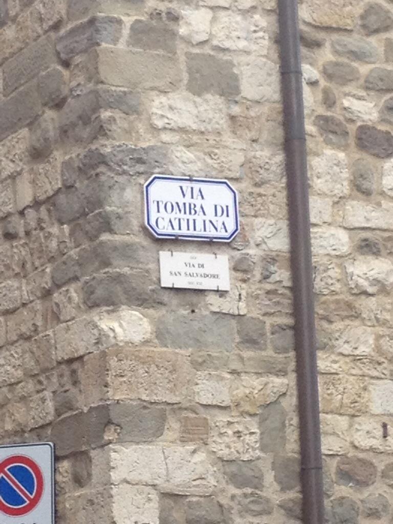 Via Tomba di Catilina...