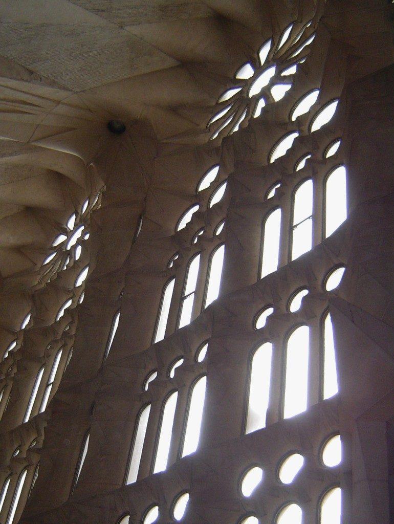 Giochi di Luce all'interno della Cattedrale...
