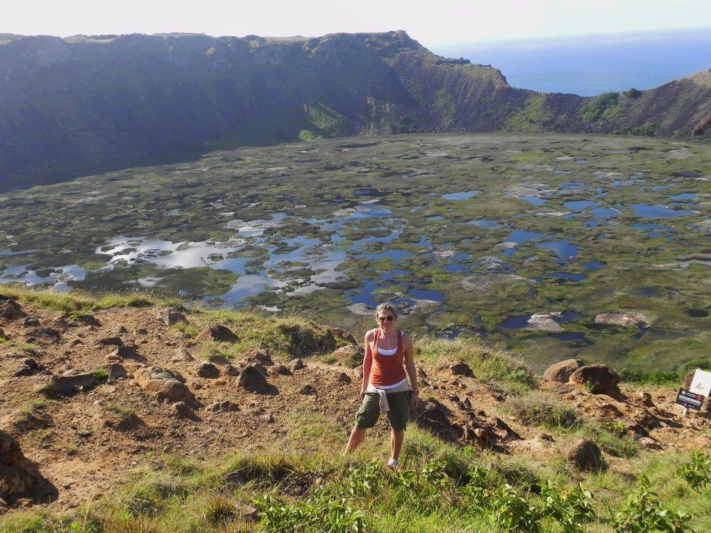 Isola di Pasqua, Vulcano Rano Raraku...