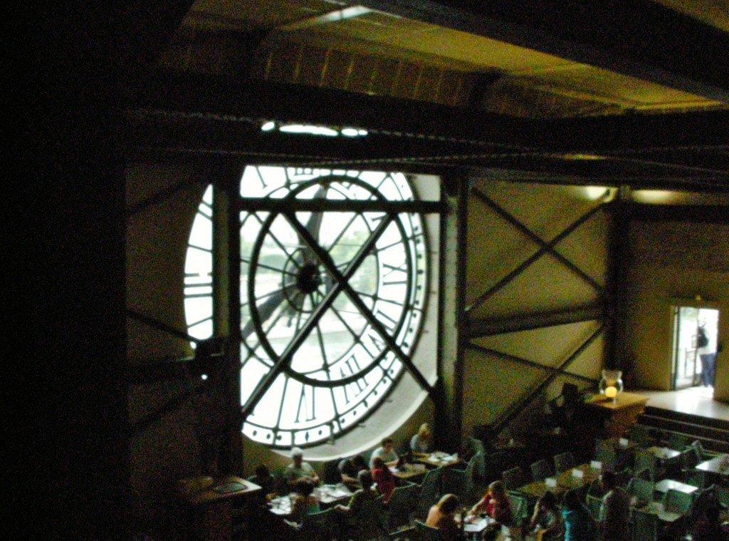 Dietro il Grande orologio della Gare d'Orsay