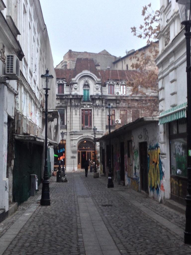 La vecchia Bucarest