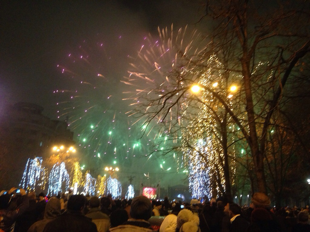 Buon Anno da Bucarest...