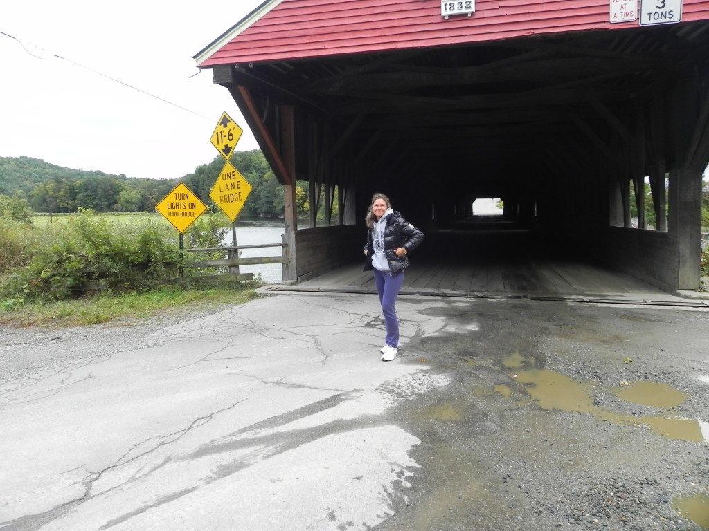 Antico ponte coperto...