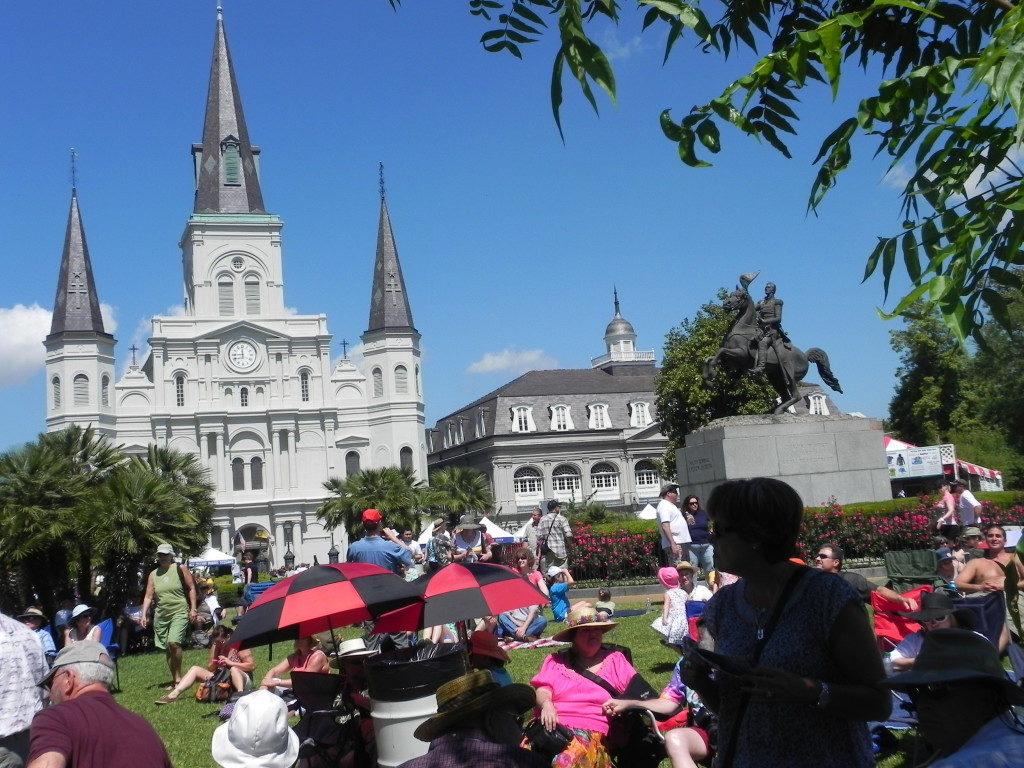 New Orleans, Jazz Festival in Jackson Square