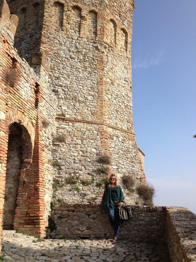 Nella Rocca di Montebello...