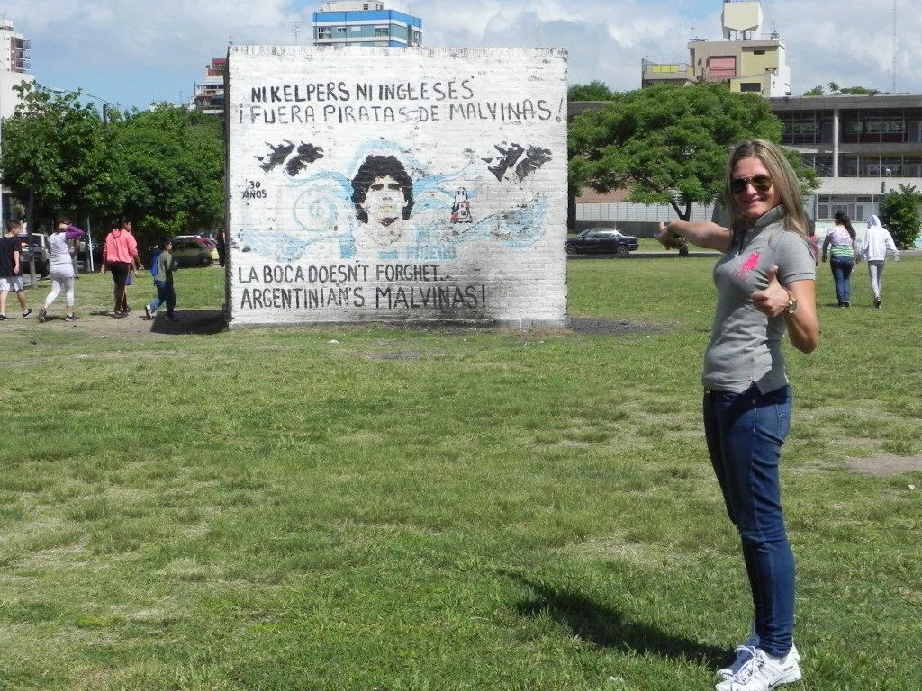 Alla Boca Maradona e'... ovunque!!!