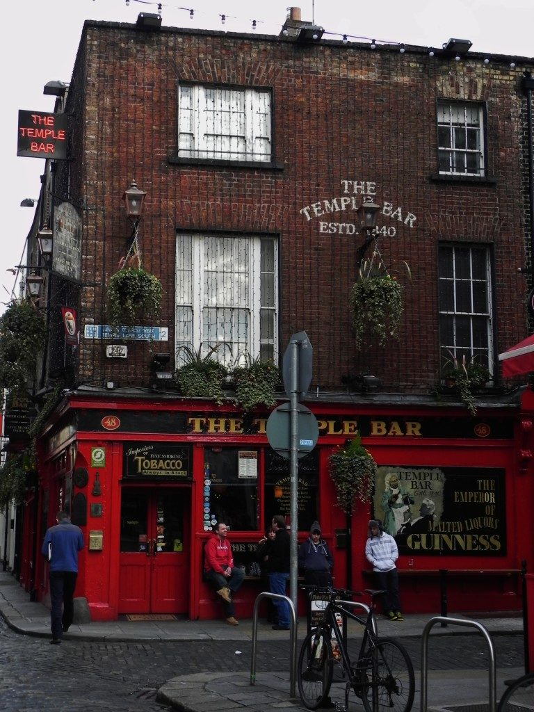 The Temple Bar...