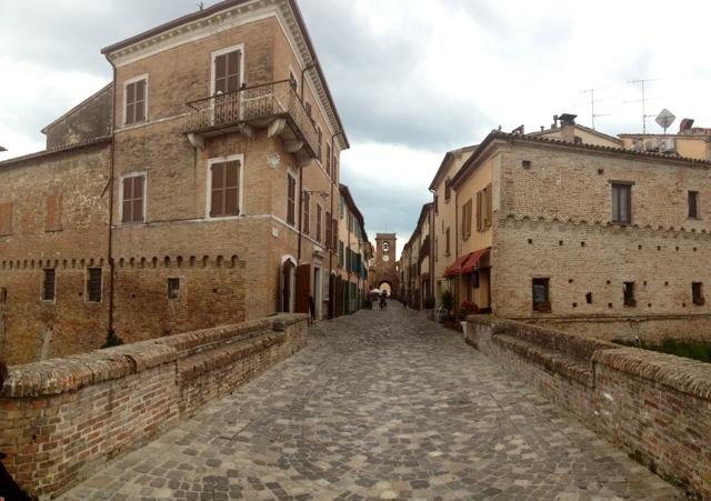 L'antico borgo di San Giovanni in Marignano...