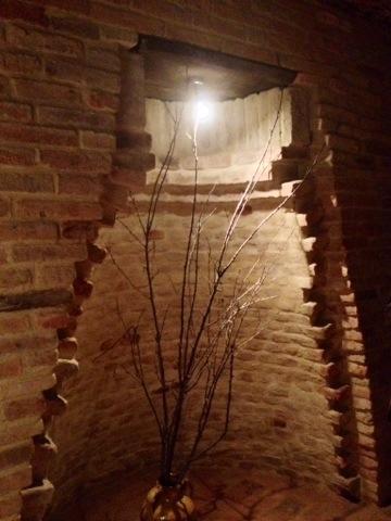 La sezione di una fossa granaria
