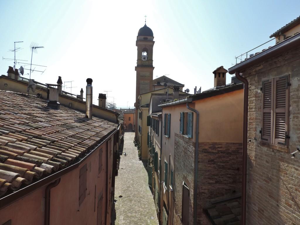 Il borgo visto dall'alto