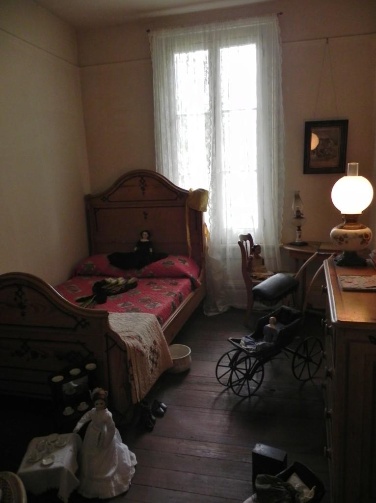 camera da letto al piano superiore...