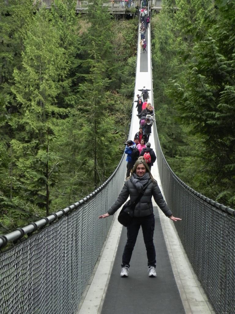 Sul Capilano Suspension Bridge