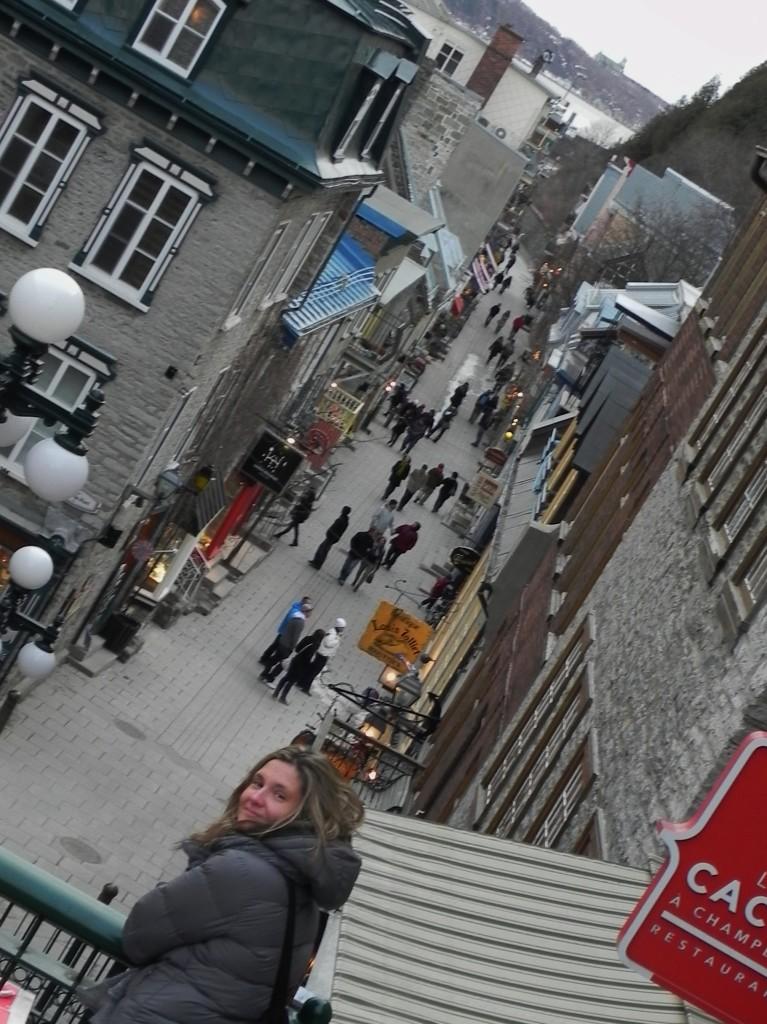 verso la Rue du Petit Champlain
