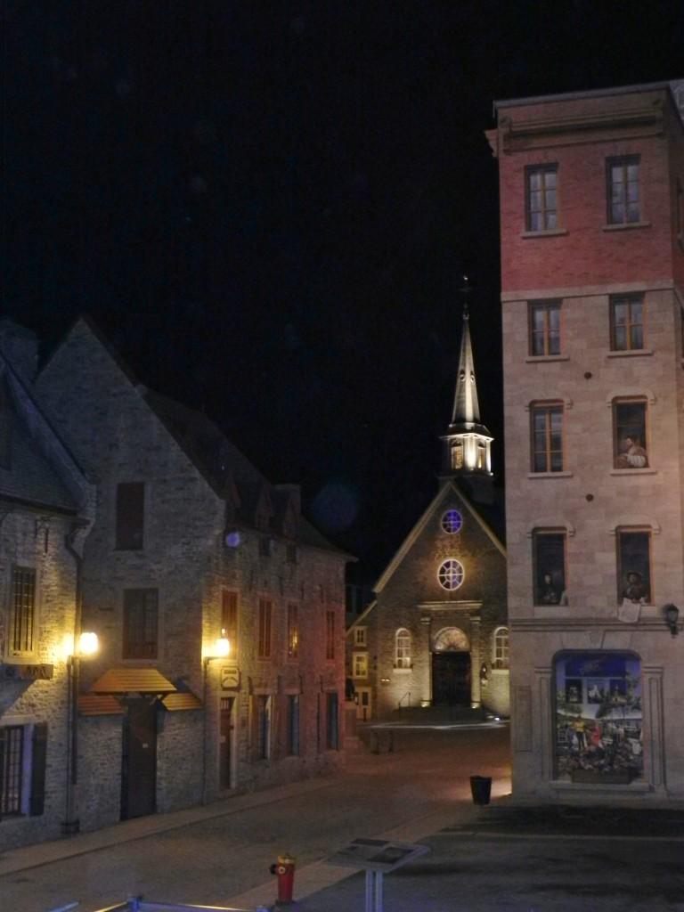 Notte nella Basse Ville