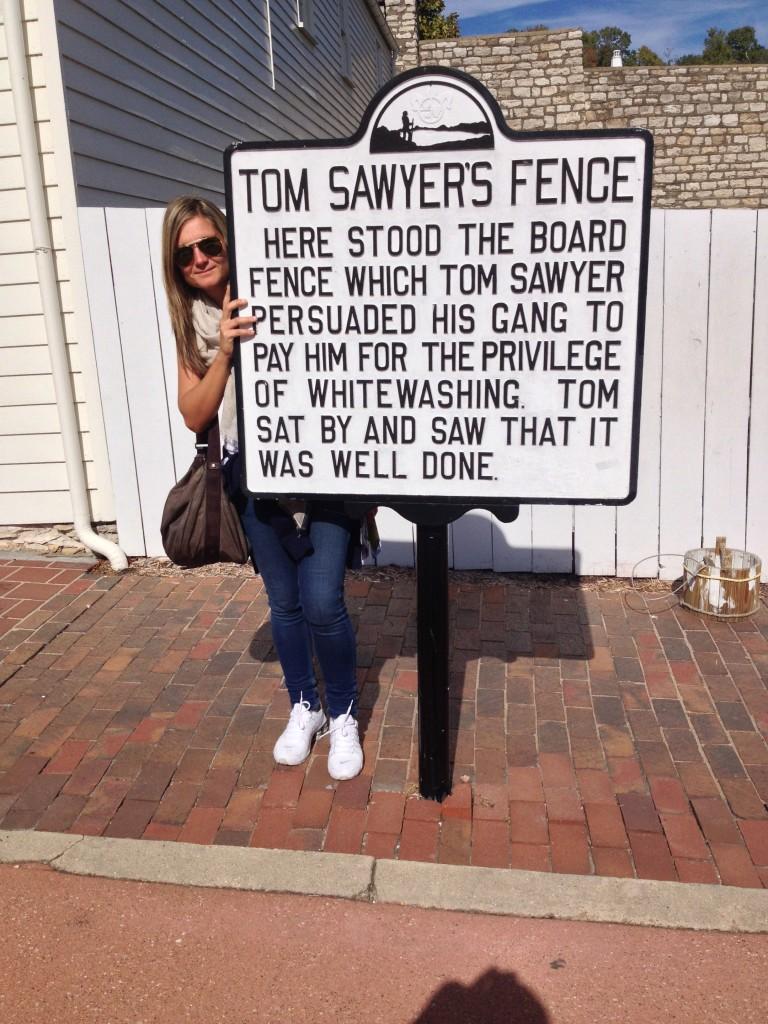 La famosa staccionata di Tom Sawyer/Mark Twain
